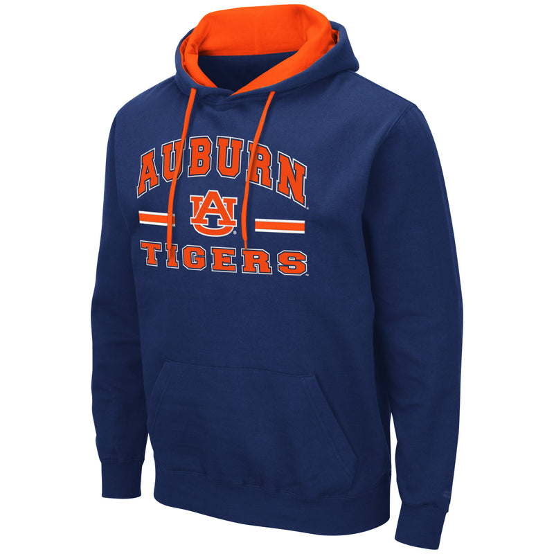Auburn Tigers Colosseum Comic Book Pullover Hoodie