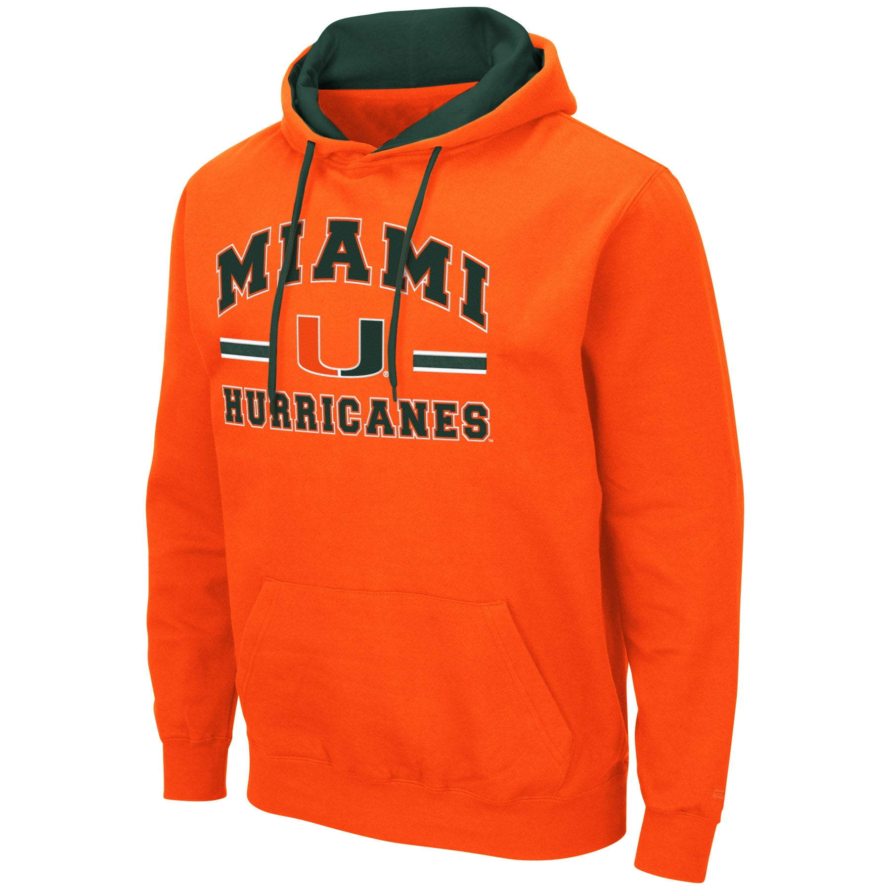 University of Miami Hurricanes Hoodie Pullover Sweatshirt