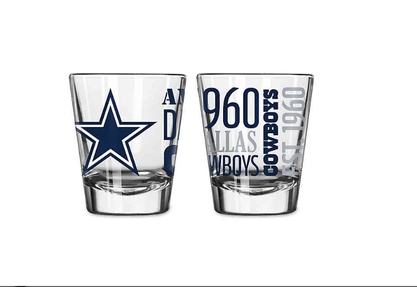 NFL Dallas Cowboys Spirit Shot Glass