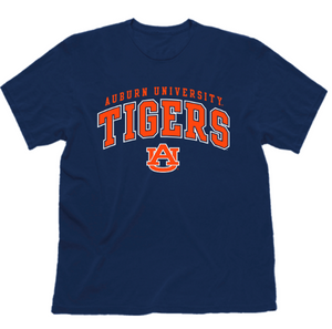 NCAA Auburn Tigers Shirt Short Sleeve Officially Licensed Team Color Tee