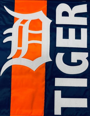 Detroit Tigers Double Sided Garden Flag