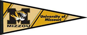 Missouri Tigers Pennant Flag