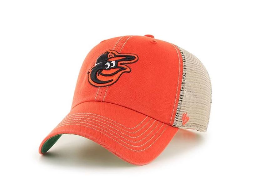 Baltimore Orioles Clean Up Adjustable Baseball Hat Trucker