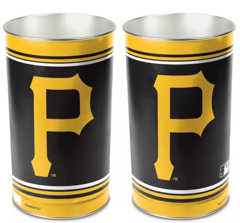 MLB Pittsburgh Pirates Tall Trash Can