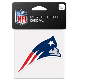 New England Patriots Perfect Cut Color Decal