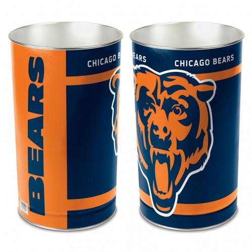 Chicago Bears Trash Can