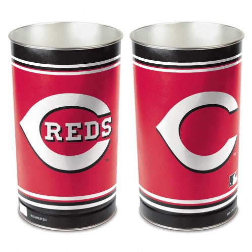 Cincinnati Reds Trash Can
