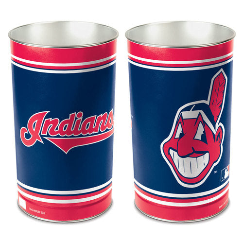 Cleveland Indians Trash Can