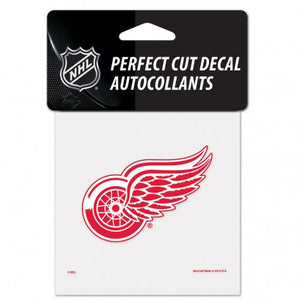 Detroit Red Wings Hockey Perfect Cut Color  Decal