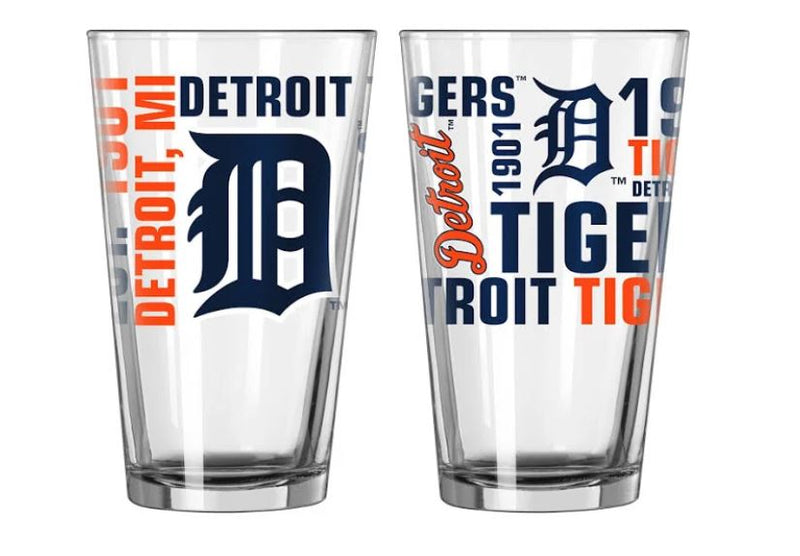 Detroit Tigers Pint Glass