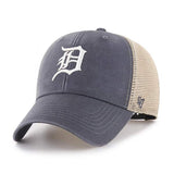 Detroit Tigers 47 Brand Vintage Navy MVP Mesh Adjustable Hat