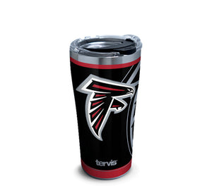 Atlanta Falcons Rush 30 Oz Tumbler Stainless Steel With Hammer Lid