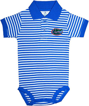 Florida Gators Blue Striped Collar Onesie