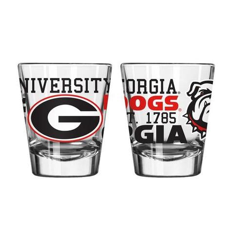 NCAA Georgia Bulldogs Spirit Shot Glass