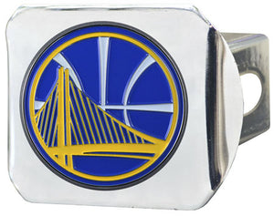 Golden State Warriors NBA Hitch Cover (Chrome)