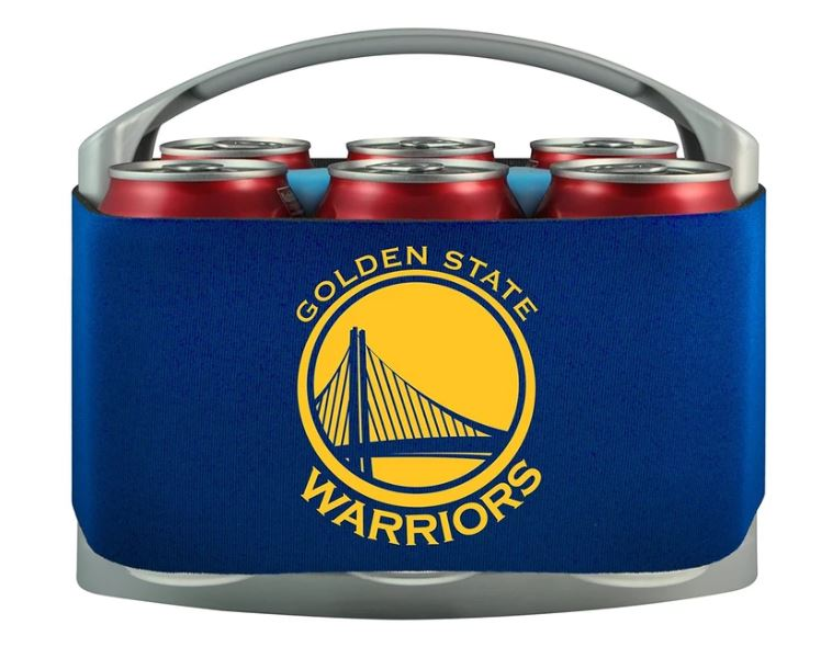 Golden State Warriors 6 Pack Cooler