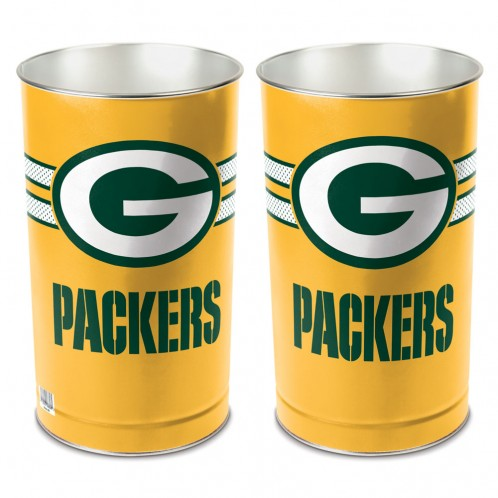 Green Bay Packers Trash Can