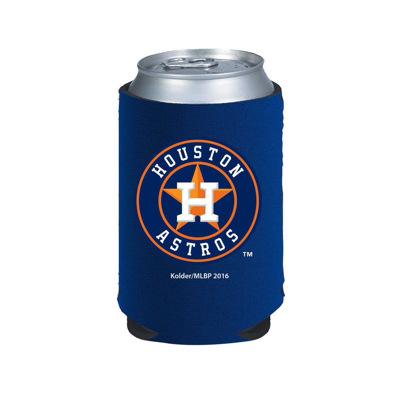 Houston Astros Collapsible Can Cooler - Navy Blue