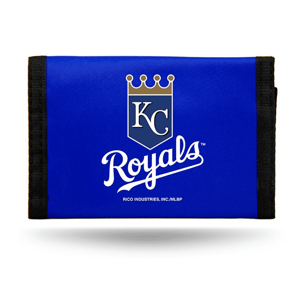 Kansas City Royals Nylon Trifold Wallet
