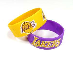 Los Angeles Lakers 2 Pack Bracelets