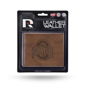 Ohio State Buckeyes Leather Wallet
