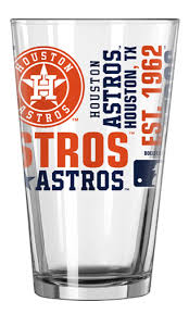 MLB Houston Astros  Pint Glass