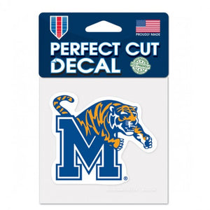 Memphis Tigers Perfect Cut Color Decal