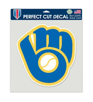 Milwaukee Brewers Perfect  Cut Color Decal