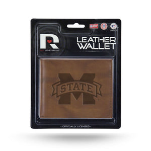 Mississippi State Bulldogs Leather Wallet