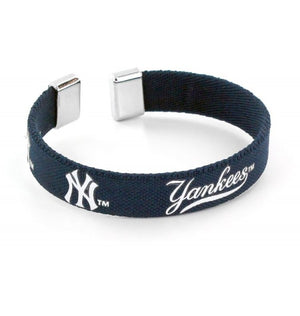 New York Yankees Ribbon Bracelet