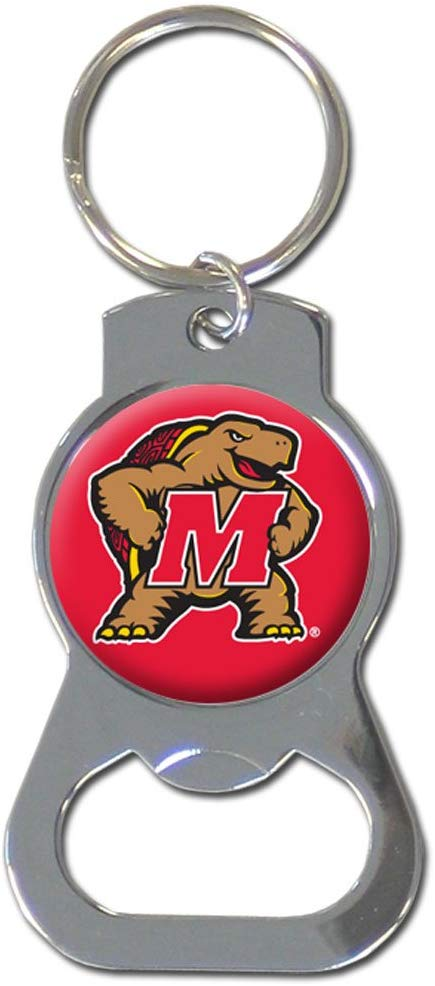 Maryland Terrapins Bottle Opener Keychain