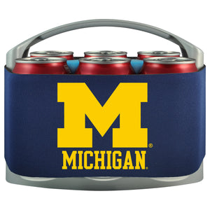 Michigan Wolverines 6 Pack Cooler