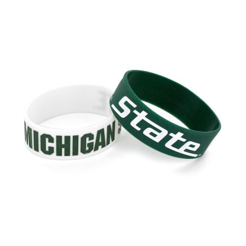Michigan State Spartans 2 Pack Bracelets