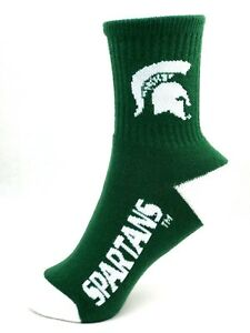 Michigan State Spartans Socks