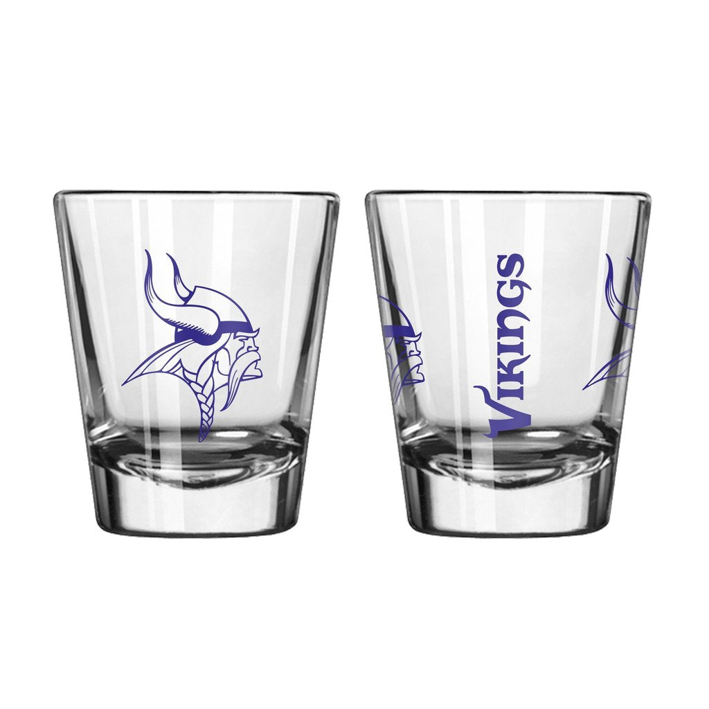 Minnesota Vikings Clear Shot Glass
