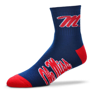 Ole Miss Rebels Socks