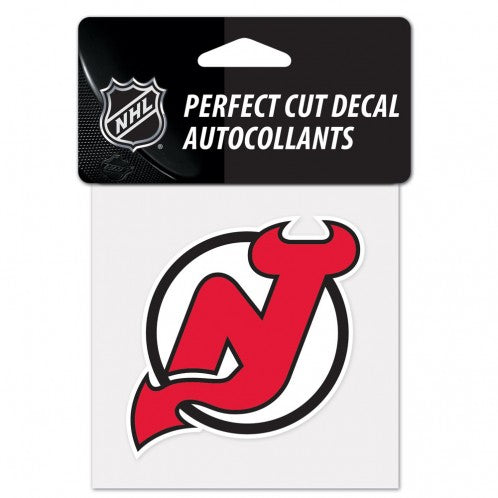 New Jersey Devils Perfect Cut Color Decal