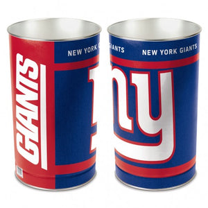 New York Giants Trash Can
