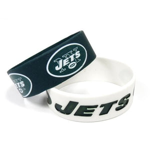 New York Jets 2 Pack Bracelets