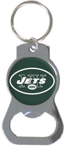 New York Jets Bottle Opener Keychain