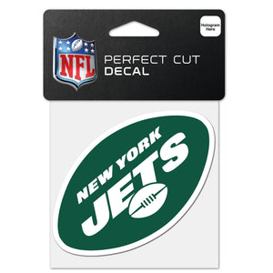 New York Jets  4x4 Die Cut Decal