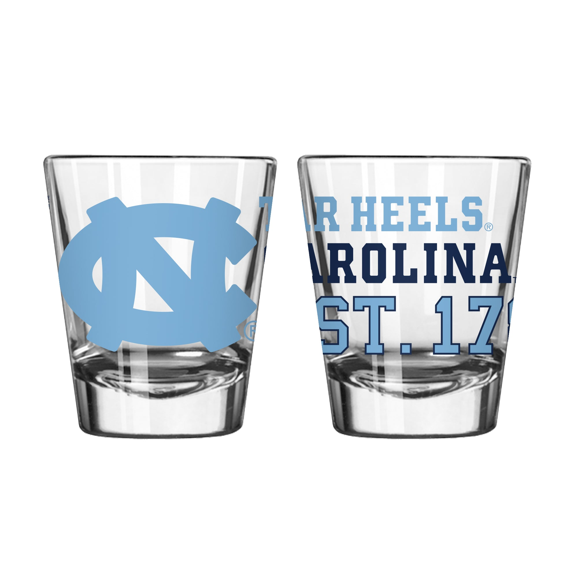 North Carolina Tar Heels Shot Glass