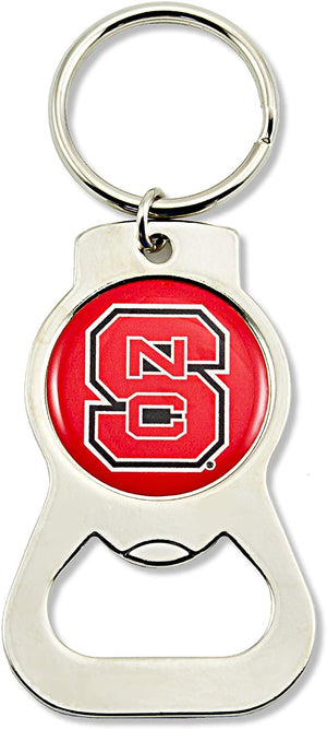 North Carolina State Wolfpack Bottle Opener Keychain