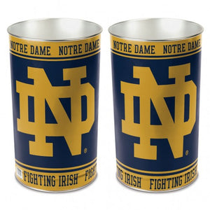 Notre Dame Fighting Irish Trash Can