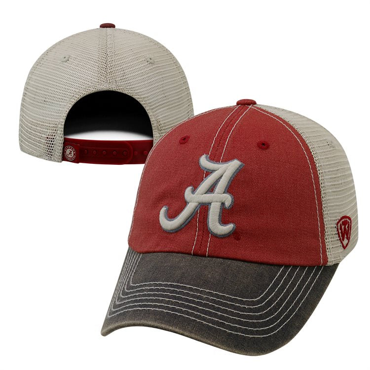 Alabama Crimson Tide Offroad Adjustable Three-Tone Hat