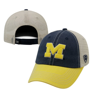 Michigan Wolverines Snapback Three-Tone Offroad Hat