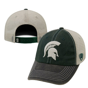 Michigan State Spartans Snapback Three-Tone Offroad Hat