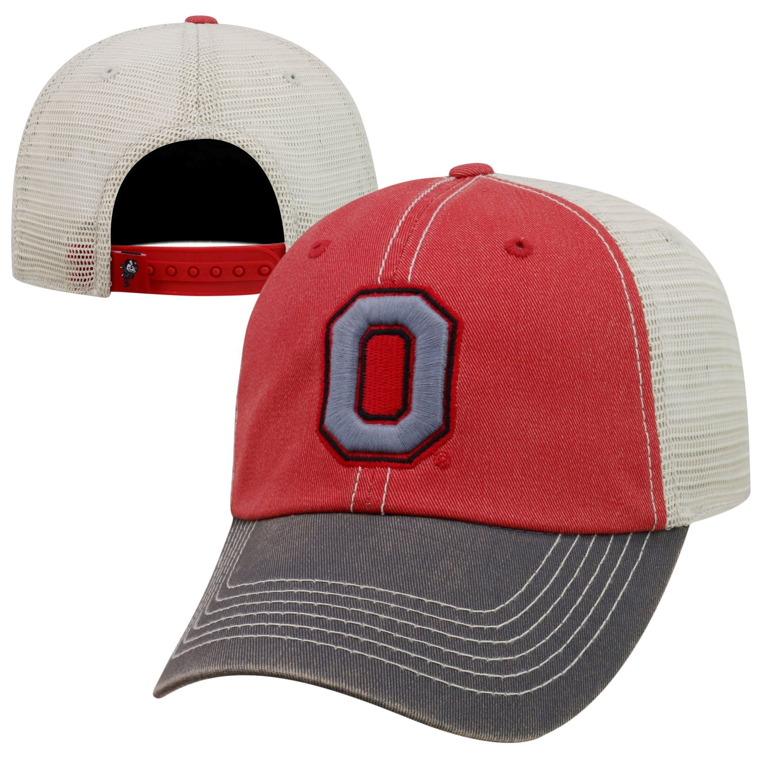 Ohio State Buckeyes Offroad Adjustable Three-Tone Hat