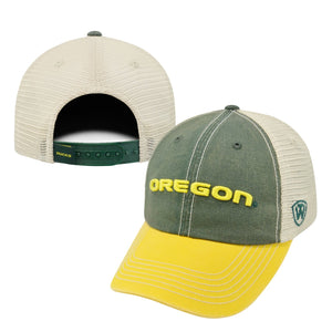 Oregon Ducks Snapback Three-Tone Offroad Hat