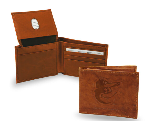 Baltimore Orioles Leather Wallet